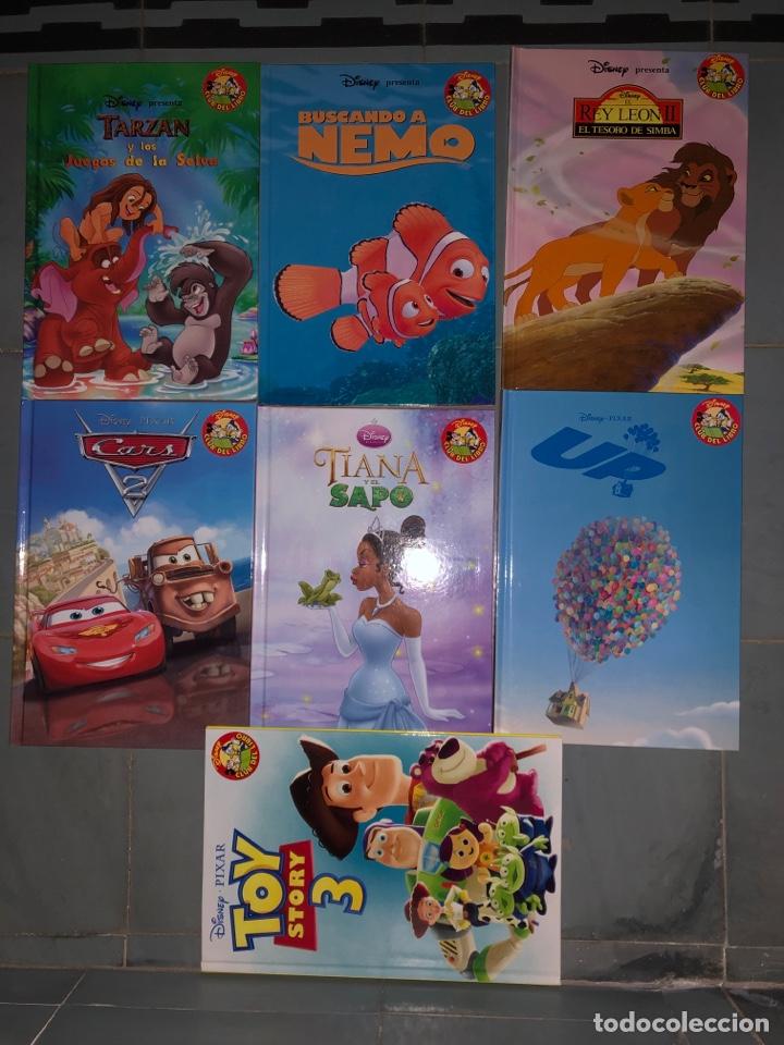 Libros: Lote 7 libros disney toy story rey leon tiana y el sapo UP cars tarzan - Foto 2 - 254064855