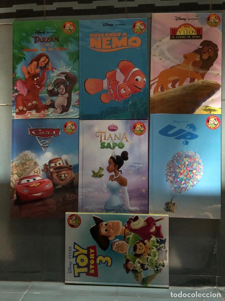 LOTE 7 LIBROS DISNEY TOY STORY REY LEON TIANA Y EL SAPO UP CARS TARZAN (Libros Nuevos - Literatura Infantil y Juvenil - Cuentos infantiles)