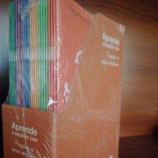 Libros: PAQUETE CON 24 CUADERNOS APRENDE A ESCRIBIR CON POQUITO A POCO ESCRITURA. LA GALERA. Lote 254757995