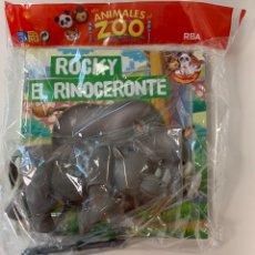 Libros: MIS ANIMALES DEL ZOO - EL RINOCERONTE - CUENTO NATIONAL GEOGRAPHIC. Lote 254760995