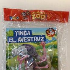 Libros: MIS ANIMALES DEL ZOO - EL AVESTRUZ - CUENTO NATIONAL GEOGRAPHIC. Lote 254762035