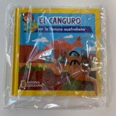 Libros: CUENTO ANIMALES EL CANGURO DE NATIONAL GEOGRAPHIC. Lote 254885360