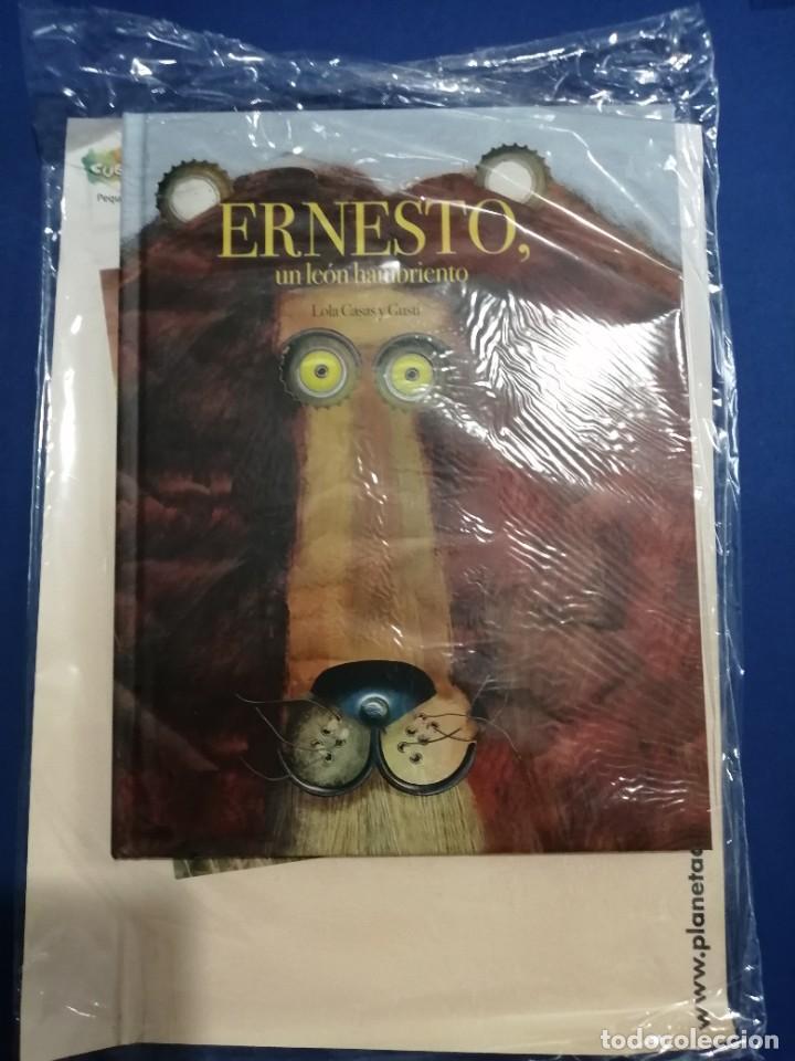 ERNESTO UN LEÓN HAMBRIENTO NUEVO A ESTRENAR (Libros Nuevos - Literatura Infantil y Juvenil - Cuentos infantiles)