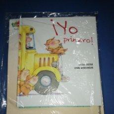 Libros: ¡YO PRIMERO! NUEVO A ESTRENAR. Lote 255598975