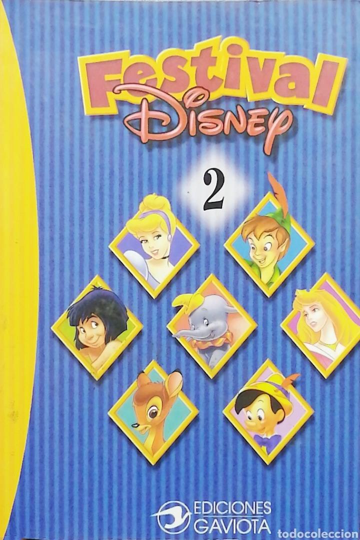 FESTIVAL DISNEY. 2 - EDICIONES GAVIOTA (Libros Nuevos - Literatura Infantil y Juvenil - Cuentos infantiles)