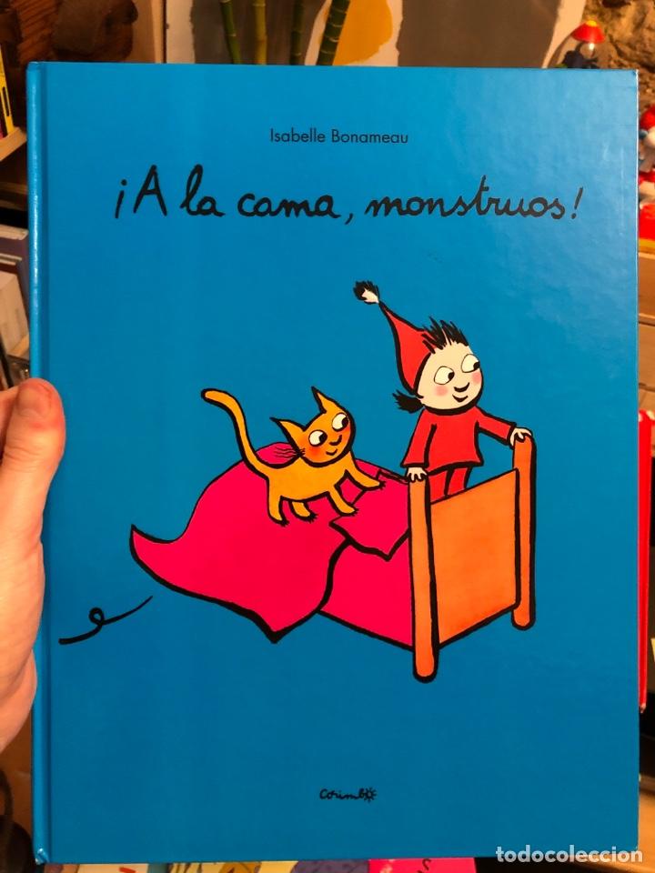 ÁLBUM ILUSTRADO ¡A LA CAMA, MONSTRUOS! ISABELLE BONAMEAU (Libros Nuevos - Literatura Infantil y Juvenil - Cuentos infantiles)