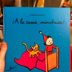 Livres: ÁLBUM ILUSTRADO ¡A LA CAMA, MONSTRUOS! ISABELLE BONAMEAU. Lote 261129730