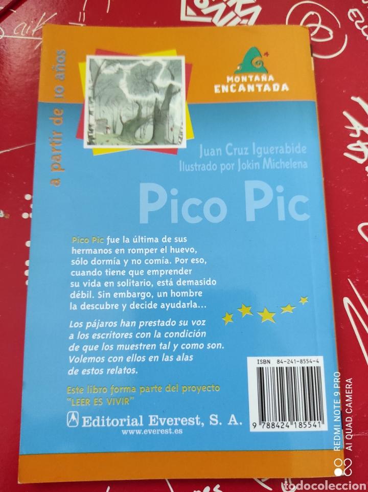 Libros: Libro Pico Pic Pájaros de Cuento. Autor: Juan Cruz Iguerabida. Editorial: Everest - Foto 3 - 262611370