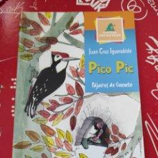 Libros: LIBRO PICO PIC PÁJAROS DE CUENTO. AUTOR: JUAN CRUZ IGUERABIDA. EDITORIAL: EVEREST. Lote 262611370