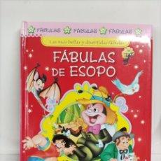 Libros: FÁBULAS ESOPO. Lote 262736230