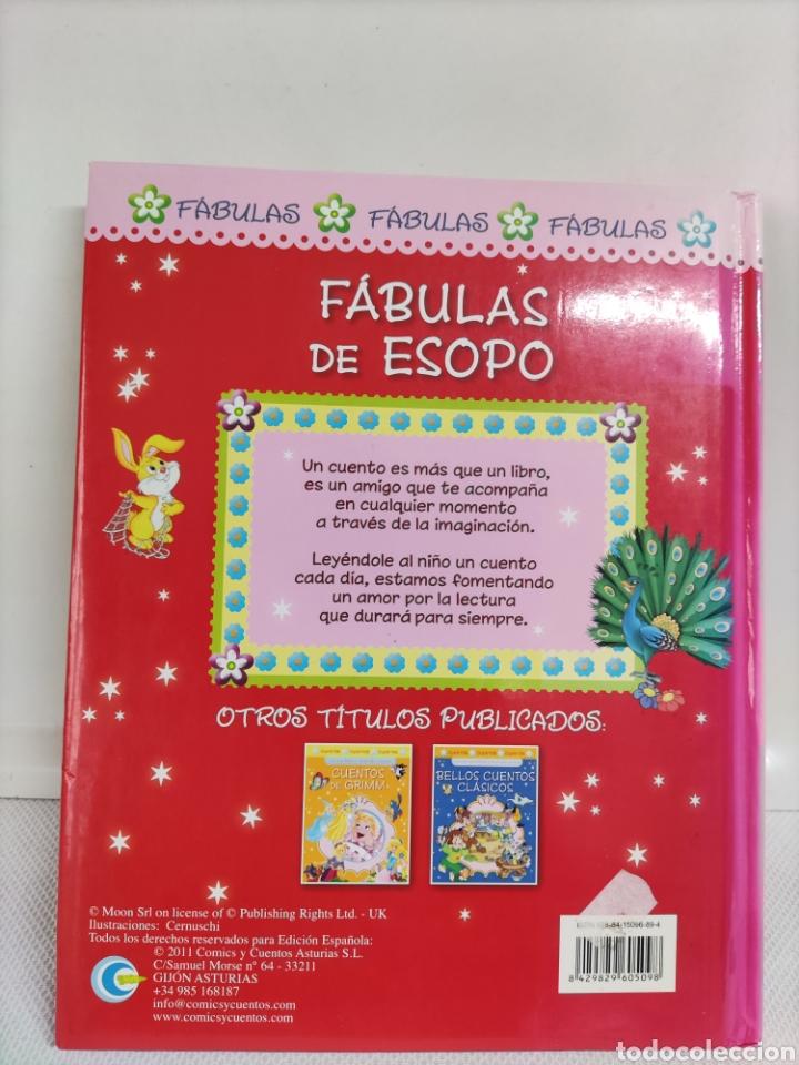 Libros: Fábulas Esopo - Foto 2 - 262736230