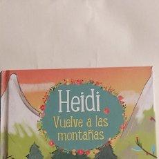 Libros: HEIDI 2 VUELVE A LAS MONTAÑAS EDITORIAL RBA MOLINO. Lote 262894980