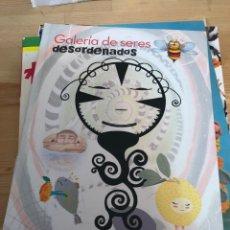 Livros: CUENTO ILUSTRADO UPL - JUAN CASTAÑO - GALERIA DE SERES DESORDENADOS. Lote 266529878