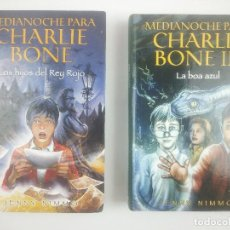 Libros: MEDIANOCHE PARA CHARLIE BONE 1 Y 3. Lote 267453074