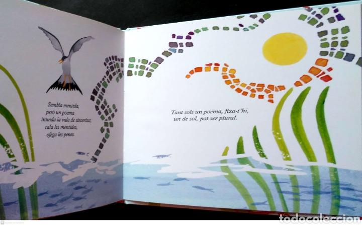 Libros: El poema que va caure a la mar. Aurelio González Ovies/Ester Sánchez. Editorial Pintar-Pintar. 2011. - Foto 3 - 268568629