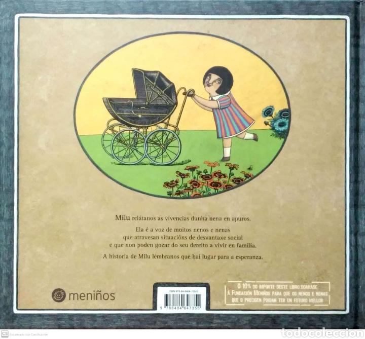 Libros: Milu. Mannuel Rivas/Aitana Carrasco. Kalandraka. 2010. NUEVO. - Foto 2 - 268569079