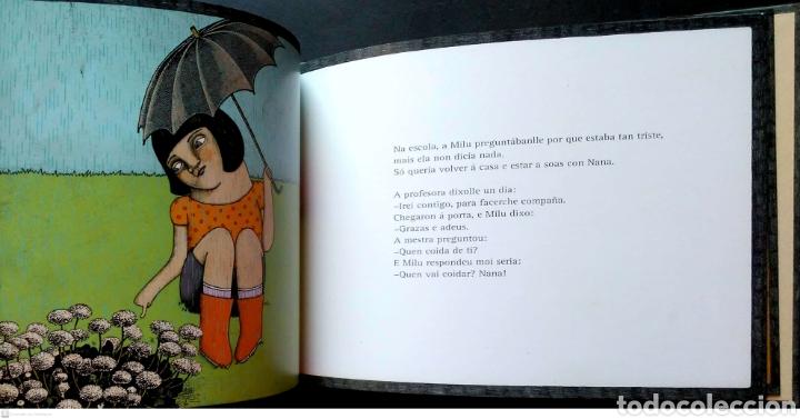 Libros: Milu. Mannuel Rivas/Aitana Carrasco. Kalandraka. 2010. NUEVO. - Foto 3 - 268569079
