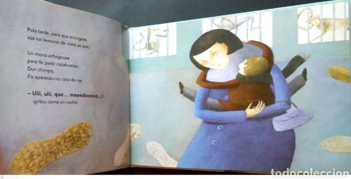 Libros: Fiz, o coleccionista de medos.Fina Casadelrrey/Teresa Lima.OQO editora. 2009. NUEVO. - Foto 3 - 268572979