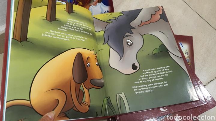 """Libros: Lote de 5 libros """"cuentos Bilingue"""" - Foto 7 - 269257493"""