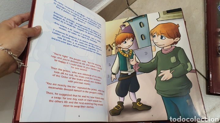 """Libros: Lote de 5 libros """"cuentos Bilingue"""" - Foto 9 - 269257493"""