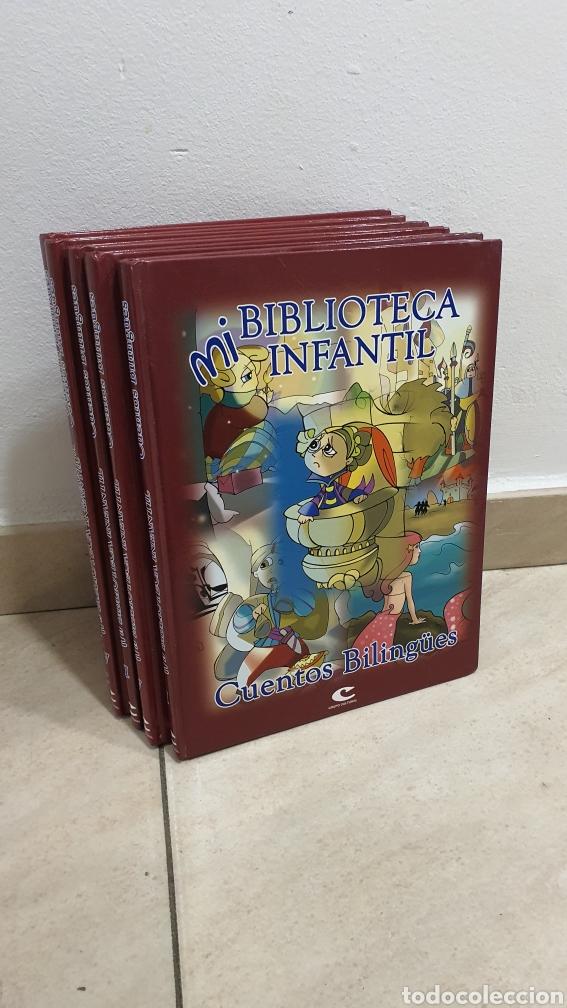 """LOTE DE 5 LIBROS """"CUENTOS BILINGUE"""" (Libros Nuevos - Literatura Infantil y Juvenil - Cuentos infantiles)"""
