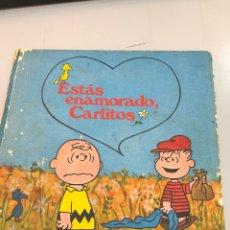 Livres: SNOOPY 1972 BURU LAN ESTAS ENAMORADO, CARLITOS. Lote 269653028