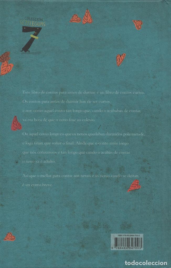 Libros: Contos para nenos que dormen deseguida. Pinto&Chinto. Kalandraka. 2010. NUEVO. - Foto 2 - 269770508
