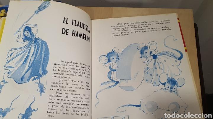 Libros: Bonito libro de cuentos(el flautista de hammelin,el pastorcillo.. - Foto 4 - 269816058