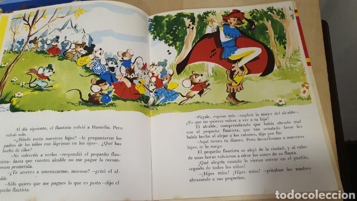 Libros: Bonito libro de cuentos(el flautista de hammelin,el pastorcillo.. - Foto 6 - 269816058