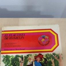 Libros: BONITO LIBRO DE CUENTOS(EL FLAUTISTA DE HAMMELIN,EL PASTORCILLO... Lote 269816058