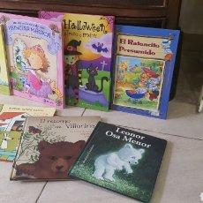 Libros: BONITO LOTE DE CUENTOS INFANTILES. Lote 269817178
