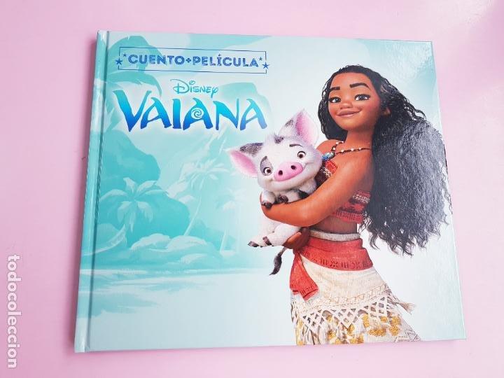 Libros: CUENTO-DISNEY CLÁSICOS-VAIANA+PELÍCULA-ABIERTO PARA FOTOS-COLECCIONISTAS - Foto 3 - 270184623
