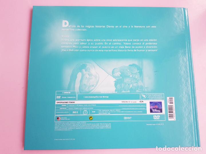 Libros: CUENTO-DISNEY CLÁSICOS-VAIANA+PELÍCULA-ABIERTO PARA FOTOS-COLECCIONISTAS - Foto 4 - 270184623