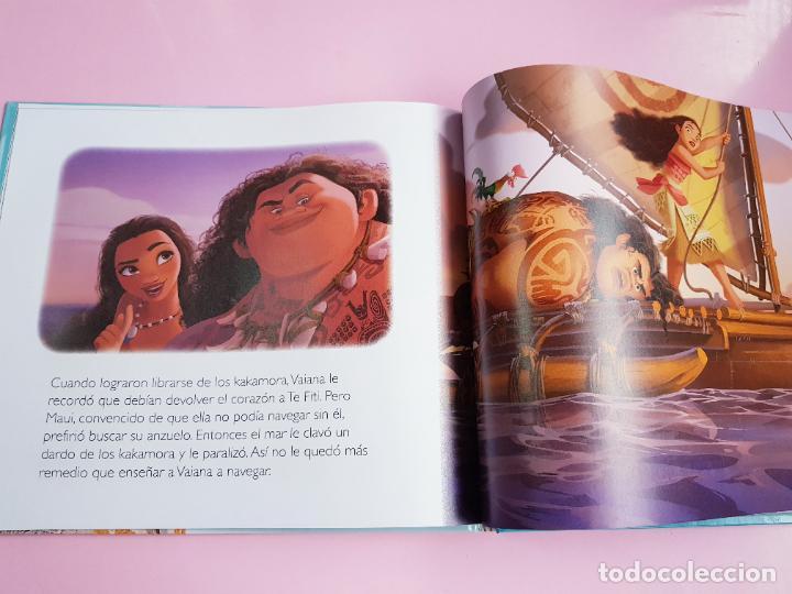 Libros: CUENTO-DISNEY CLÁSICOS-VAIANA+PELÍCULA-ABIERTO PARA FOTOS-COLECCIONISTAS - Foto 8 - 270184623