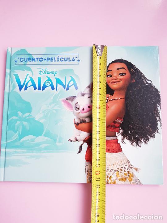 Libros: CUENTO-DISNEY CLÁSICOS-VAIANA+PELÍCULA-ABIERTO PARA FOTOS-COLECCIONISTAS - Foto 11 - 270184623