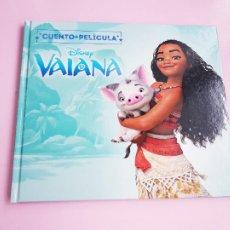 Libros: CUENTO-DISNEY CLÁSICOS-VAIANA+PELÍCULA-ABIERTO PARA FOTOS-COLECCIONISTAS. Lote 270184623