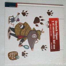 Libros: SHERLOCK TOPEZ Y EL SECUESTRO DEL OSO ESTADO NUEVO MAS ARTICULOS. Lote 271109158