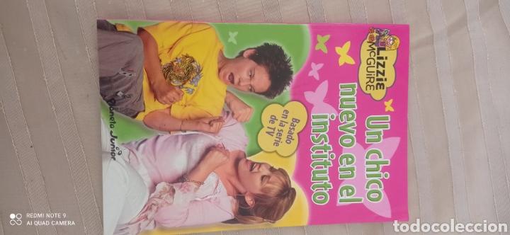 LIZZIE MCGUIRE UN CHICO NUEVO EN EL INSTITUTO (Libros Nuevos - Literatura Infantil y Juvenil - Cuentos infantiles)
