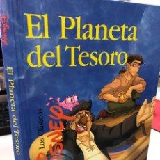 Libros: LA PLANETA DEL TESORO - DISNEY - LOS CLÁSICOS - GAVIOTA. Lote 281051673