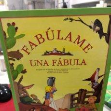Livros: FABULAME UNA FABULA - FANTASTICAMENTE ILUSTRADO POR MARIA ESPLUGA. Lote 281866923