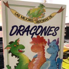 Livros: LAS MEJORES HISTORIAS DE DRAGONES. Lote 282539893