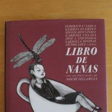 Libros: HERRÍN HIDALGO (SELECCIÓN) - LIBRO DE NANAS - ED. MEDIA VACA - AÑO 2004 - 118 PÁGINAS - 20X24CM. Lote 284383663