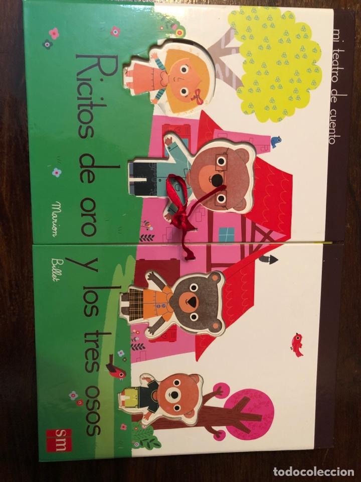 LIBRO-CAJA POP UP RICITOS DE ORO Y LOS TRES OSOS - MARION BILLET - SM MI TEATRO DE CUENTO (Libros Nuevos - Literatura Infantil y Juvenil - Cuentos infantiles)