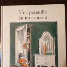 Libros: UNA PESADILLA EN MI ARMARIO. Lote 286890703