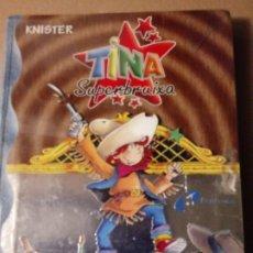 Libros: TINA SUPERBRUIXA AL SALVATGE OESTE.. Lote 288489348