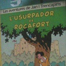 Libros: L'USURPADOR DE ROCAFORT. PEYO. JUNIOR, 1986. Lote 289807603
