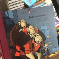 Livros: LIBRO ILUSTRADO JUAN SIN MIEDO - MAX Y ROSER IBORRA. Lote 291047723