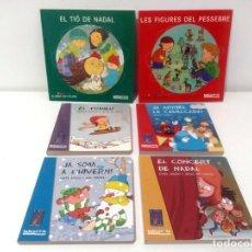 Libros: LOT 6 CONTES INFANTILS DE NADAL - EDITORIAL BARCANOVA. Lote 293684973