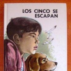 Livros: LIBRO ENYD BLYTON LOS CINCO SE ESCAPAN NUMERO 24 COMO NUEVO . Lote 47949808