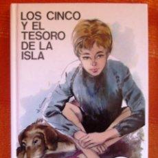 Livros: LIBRO ENYD BLYTON LOS CINCO Y EL TESORO DE LA ISLA NUMERO 22 COMO NUEVO . Lote 47949931